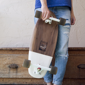 walnut skateboard deck