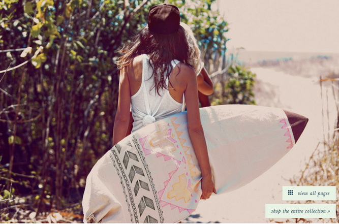 Free People X Chapman at Sea collaboration